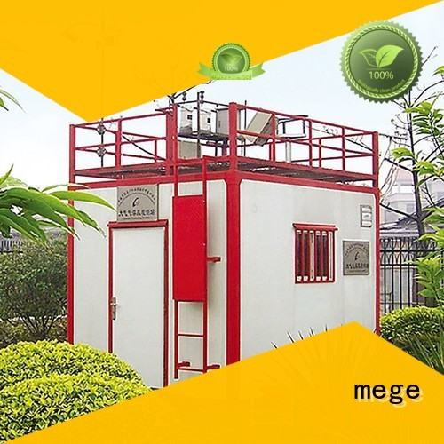 bts shelter equipment fiberglass communication MEGE Brand emergency shelter