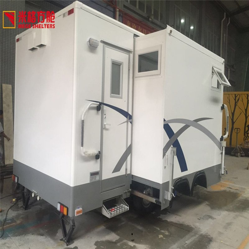The guide of Trailer Expandable Bathroom