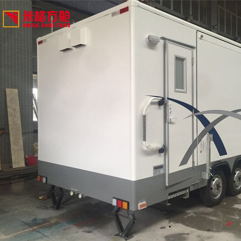 Trailer Expandable Bathroom