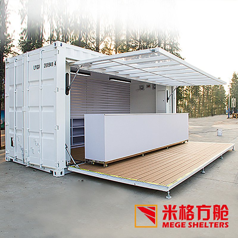 MEGE Australian Clothing Store Container Space image39