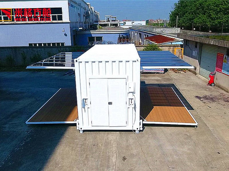 toilet office houses out of shipping containers steven MEGE company