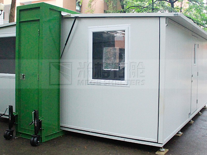 Steven Folding Container House
