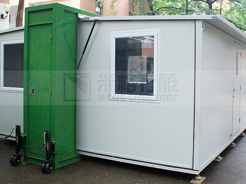 toilet bar houses out of shipping containers police MEGE