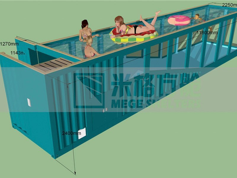 Custom store houses out of shipping containers folding buy shipping container pool