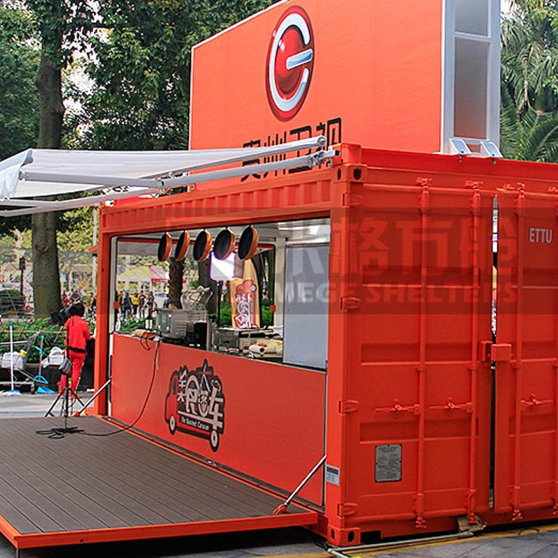 Mobile Kitchen/Mobile Shipping Container Fast Food Kitchen Store