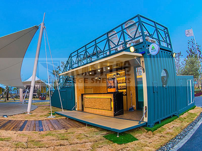 Custom australian kitchenmobile houses out of shipping containers MEGE kitchen