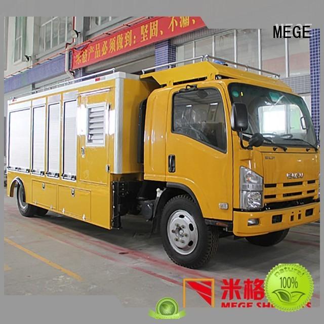truck fiberglass emergency shelter equipment MEGE company