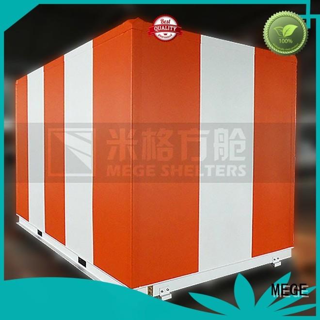 MEGE Brand electricity fiberglass emergency bts shelter
