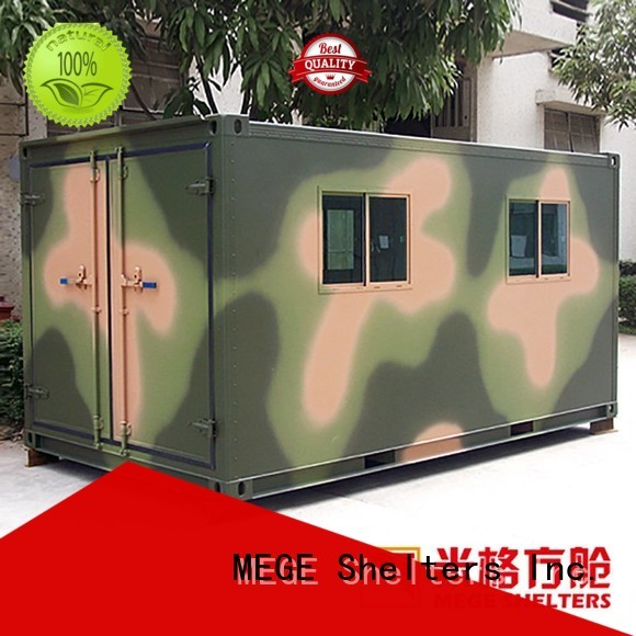 communication fiberglass emergency military MEGE Brand emergency shelter supplier