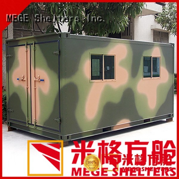 MEGE Brand fiberglass water proof truck custom bts shelter