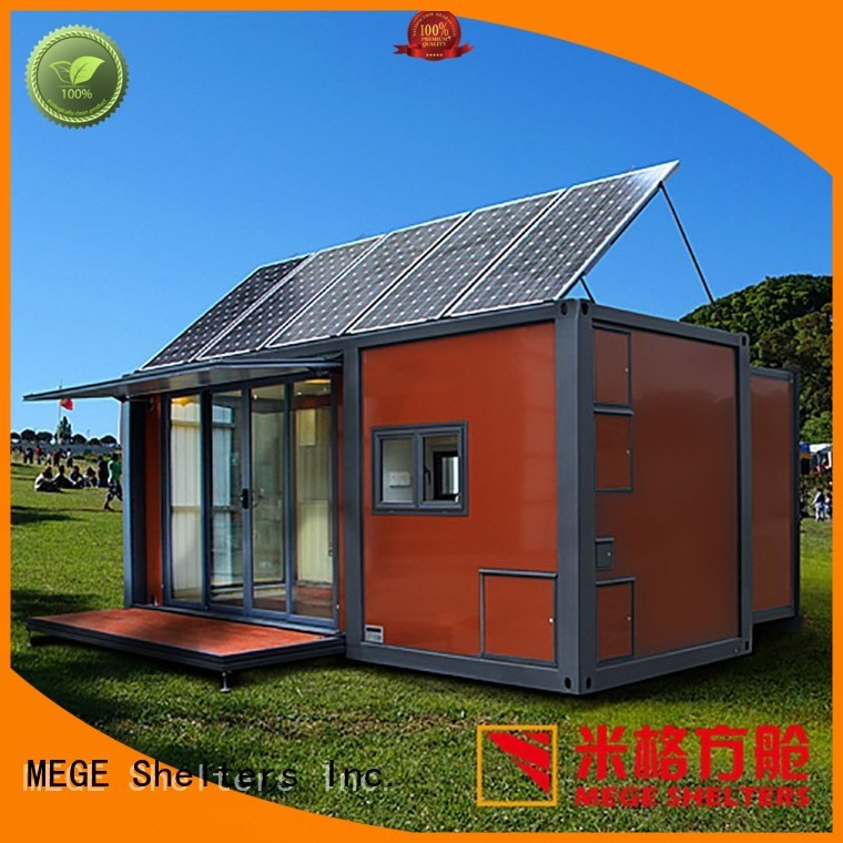 Hot station buy shipping container pool apartment MEGE Brand