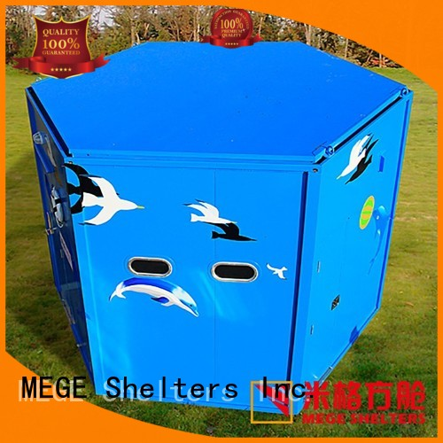 shell bar shipping container homes MEGE Brand