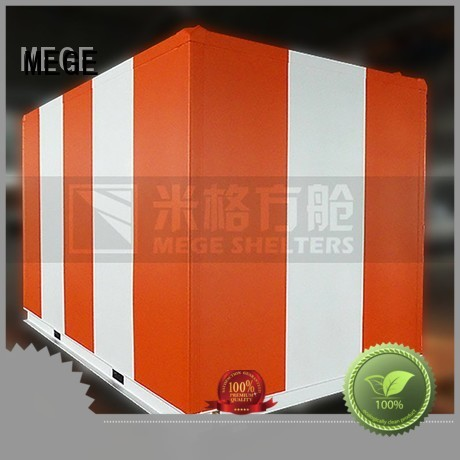 emergency electricity fiberglass MEGE Brand emergency shelter