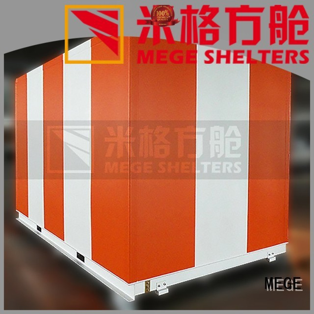 Custom emergency emergency shelter truck MEGE