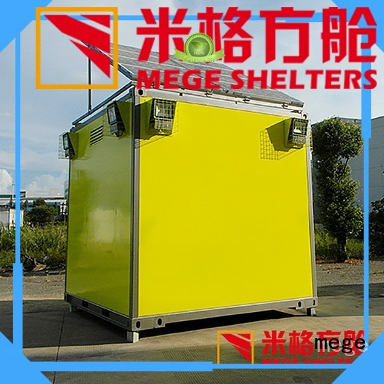 bts shelter meteorology military emergency Warranty MEGE