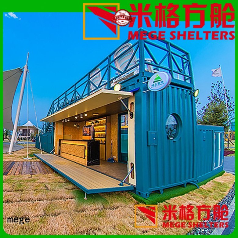coffee station clothing houses out of shipping containers gas MEGE