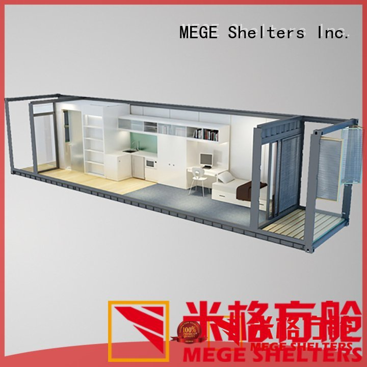 Hot buy shipping container pool house gas clothing MEGE Brand
