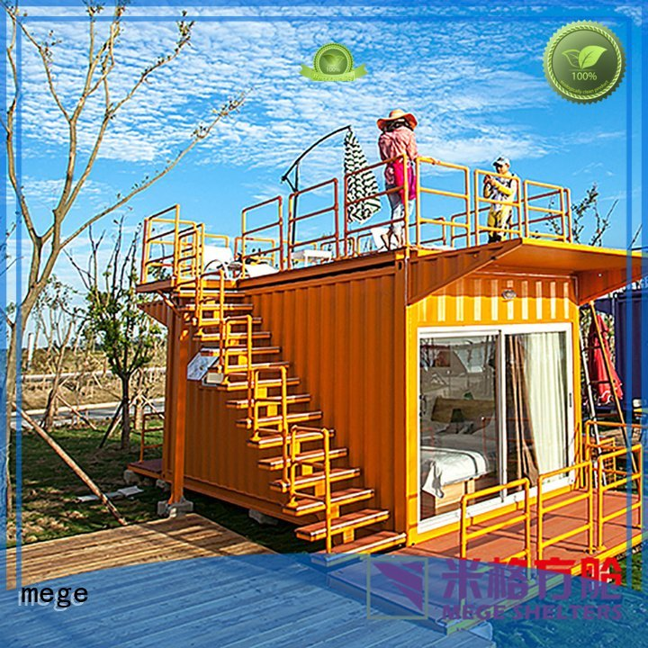 MEGE Brand pool shipping container homes
