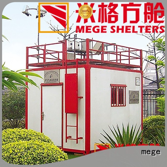 fiberglass emergency MEGE Brand emergency shelter