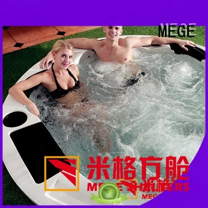 Hot hotel shipping container homes bathtub MEGE Brand
