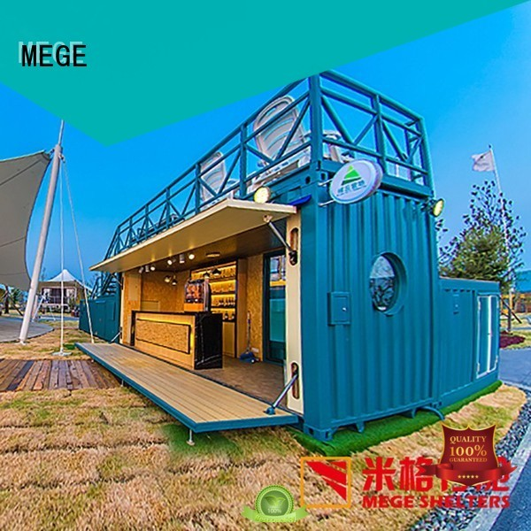 Quality MEGE Brand pool portable houses out of shipping containers