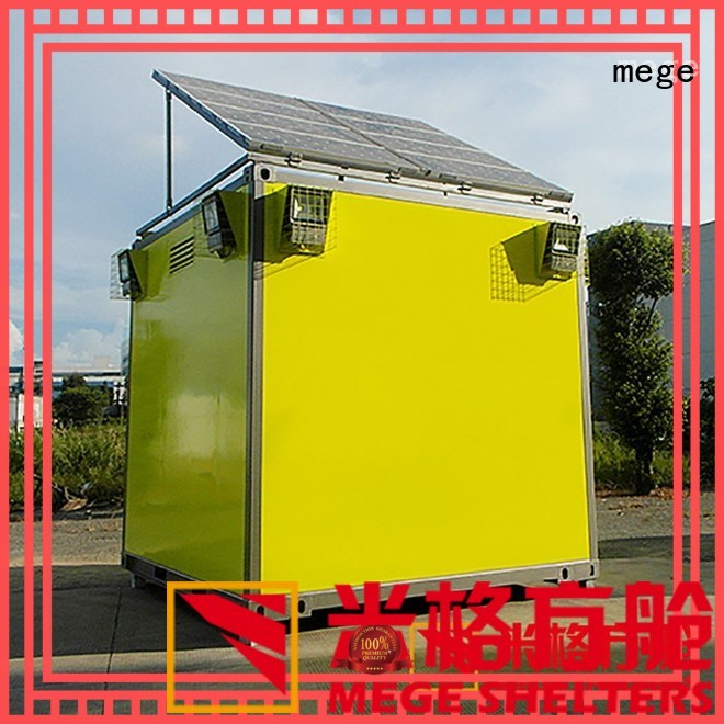 MEGE Brand military electricity fiberglass equipment emergency shelter