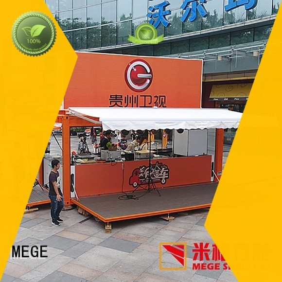 MEGE Brand food buy shipping container pool store supplier