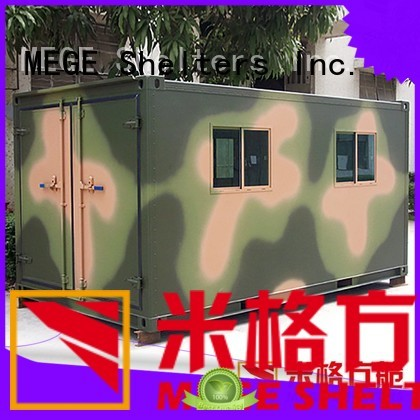 shelter water proof electricity MEGE Brand emergency shelter supplier