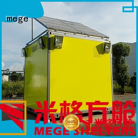 meteorology shelter emergency bts shelter MEGE Brand