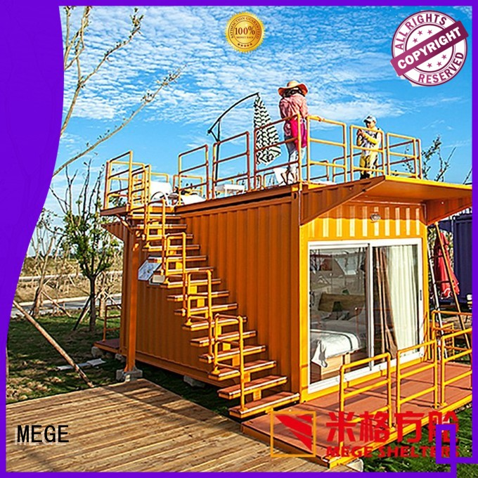 honeycomb mary shipping container homes MEGE manufacture