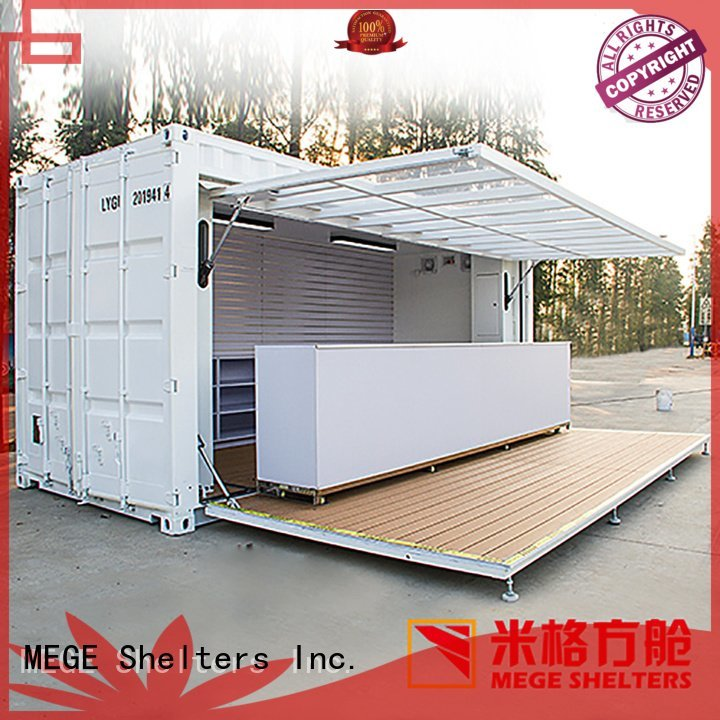 Quality buy shipping container pool MEGE Brand office houses out of shipping containers
