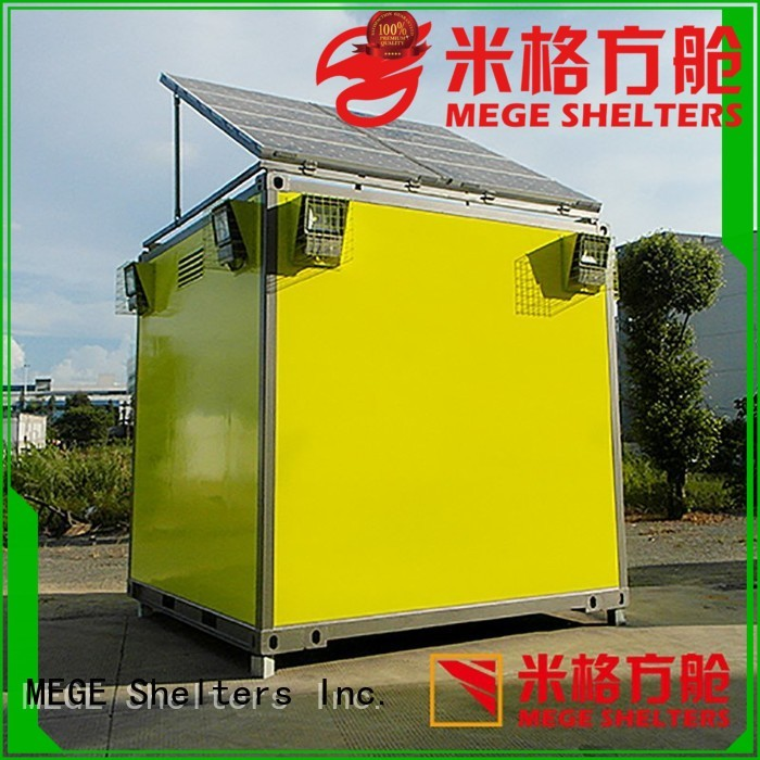 communication emergency shelter electricity bts shelter MEGE Brand