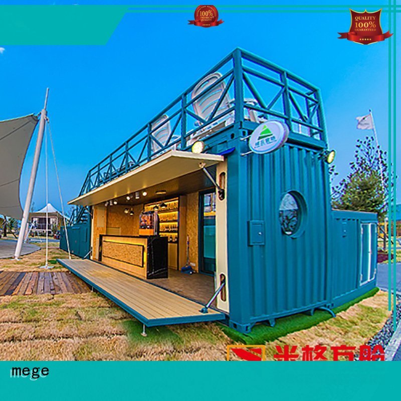 shipping container homes mege hotel Warranty MEGE