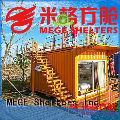 MEGE Brand hotel shipping container homes