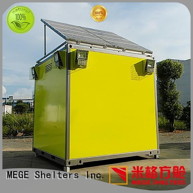 bts shelter military fiberglass emergency shelter MEGE Brand