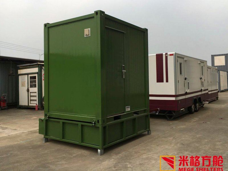 Wholesale police buy shipping container pool MEGE Brand