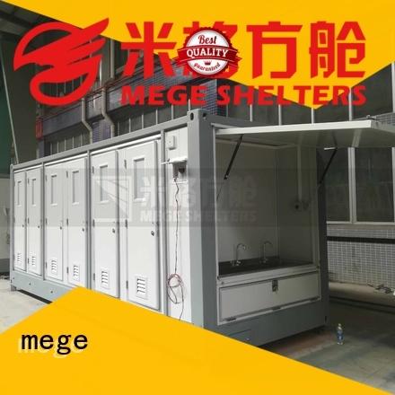 shipping container homes bathtub bathroom MEGE Brand company