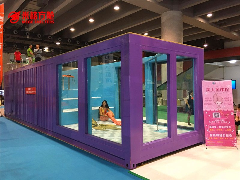 Hot mobile houses out of shipping containers gas coffee MEGE Brand
