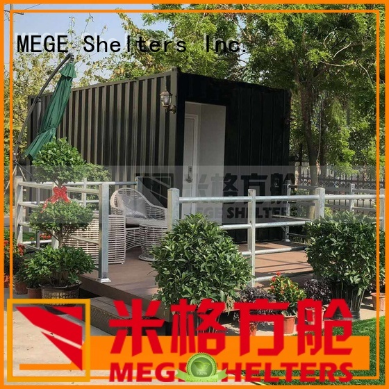 MEGE Brand pool hotel custom shipping container homes