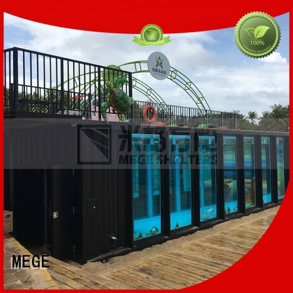 hotel rv OEM buy shipping container home MEGE