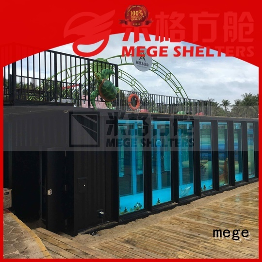 Wholesale bathroom shipping container homes bar MEGE Brand
