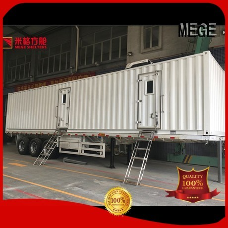 Hot fast houses out of shipping containers portable german MEGE Brand