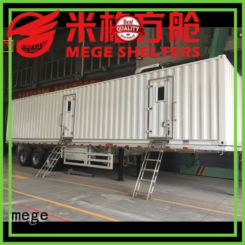 Quality MEGE Brand kitchen houses out of shipping containers