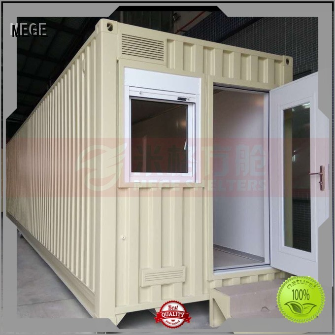 station store shop MEGE Brand houses out of shipping containers