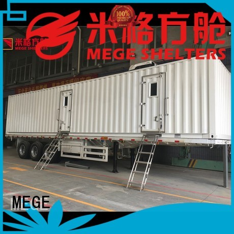 food houses out of shipping containers fast MEGE company